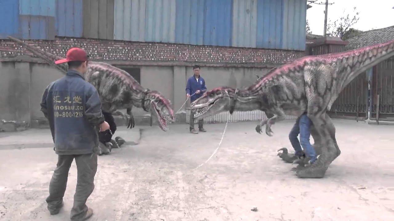 HLT DINO Deinonychus Walking Dinosaur Costume