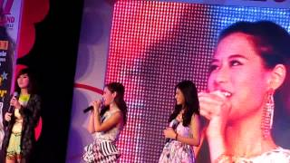 Faye Fang Kaew live in the 10th Anniversary of Seventeen Magazine