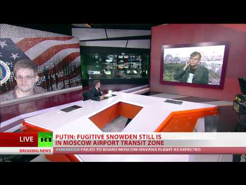 Putin: fugitive Snowden still is in Moscow airport transit zone