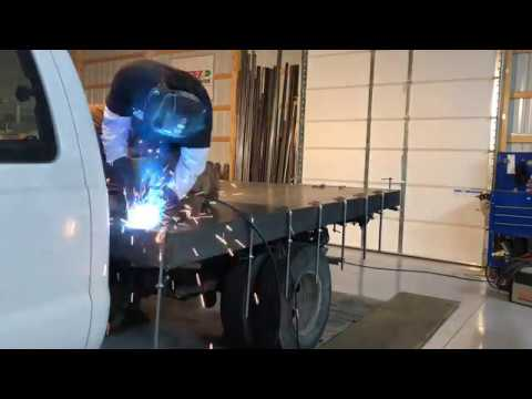 Building A Stake Body Truck Bed Part 3