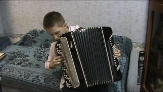 Ступин Гремит моя музыка баян обучение правая рука
