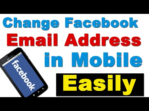How can i change my city on facebook account number to email