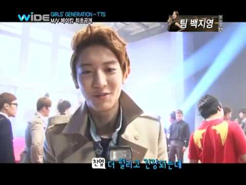 SNSD TTS Twinkle MV Behind the scenes w EXO May 3, 2012 GIRLS GENERATION 720p HD