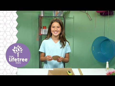 Cardboard Vase   Creation Station   Lifetree Kids