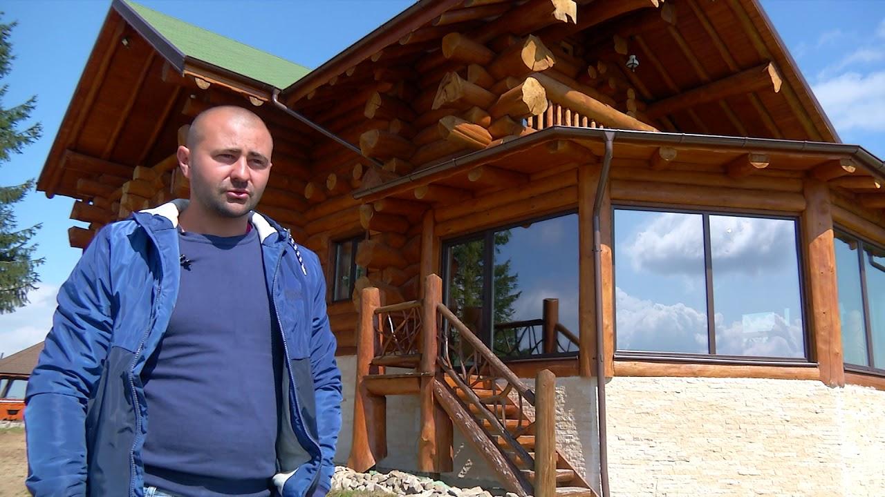 Cabane Din Lemn Rotund Cum Se Construieste Si Design Interior Belis Cluj Napoca Youtube