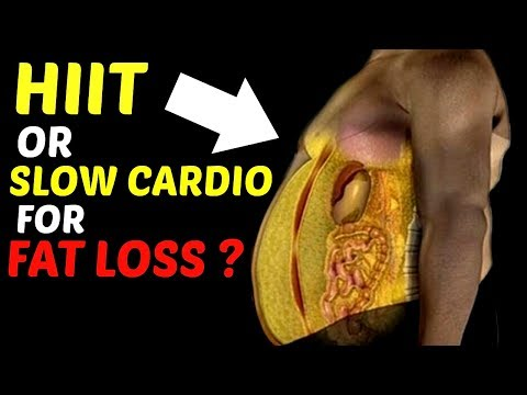HIIT or Steady State CARDIO? Best Cardio For Fat Loss.