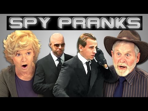 ELDERS REACT TO SPY PRANKS