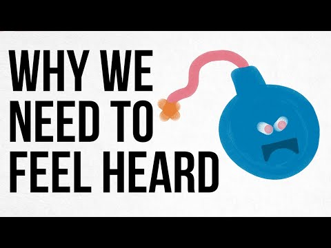 Why We Need to Feel Heard