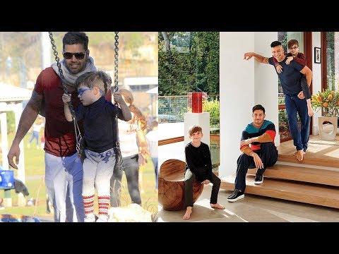 Ricky Martin's Sons - 2018 {Valentino Martin | Matteo Martin}