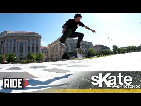 SKATE Washington, D.C. with Bobby Worrest