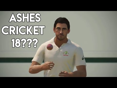 NEW ASHES CRICKET GAME?