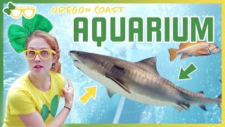 Brecky Breck Visits An Aquarium | Fish and Animals for Kids and Toddlers