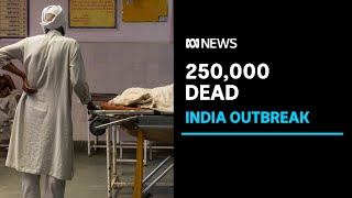 India's daily COVID-19 deaths hit new record with no end to crisis in sight | ABC News