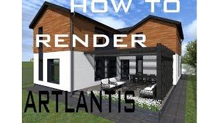 How to Render with Artlantis Studio