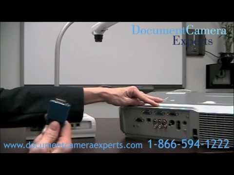 How do you hook up an elmo to a smartboard