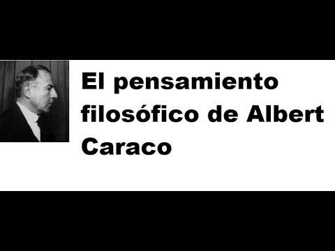El pensamiento filosófico de Albert Caraco