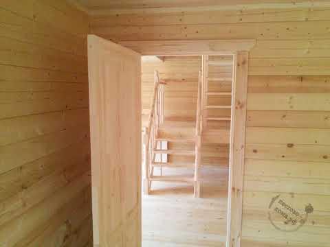 Строительство двухэтажного дома 9х8 СК Пестово дома