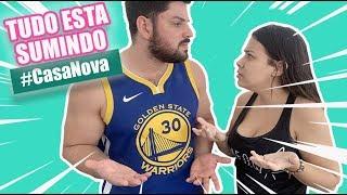 AS COISAS ESTÃO DESAPARECENDO NA CASA NOVA! | Kathy Castricini