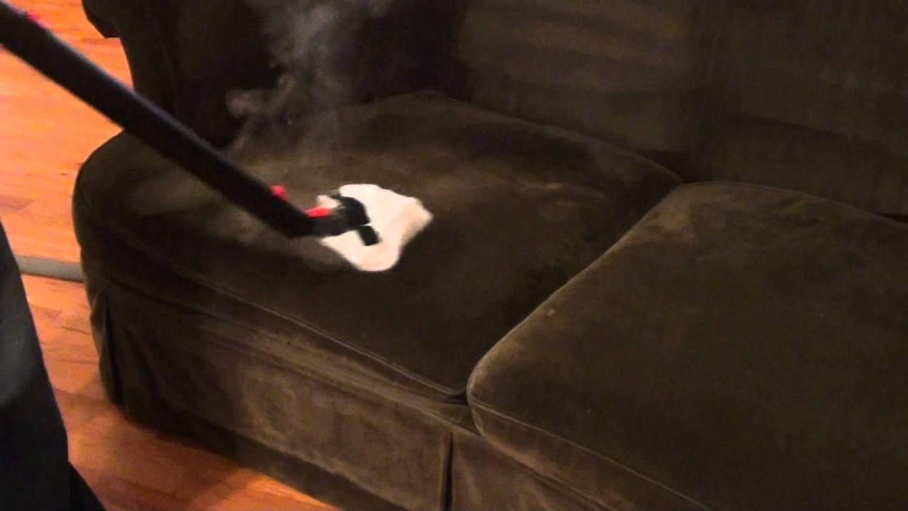Couch Steam Cleaning - YouTube