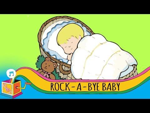 Rock-A-Bye Baby | Nursery Rhyme | Karaoke