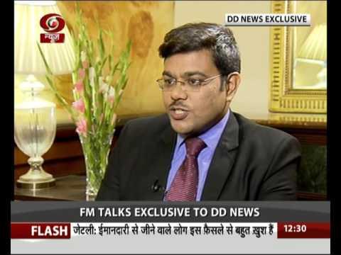 War against Black Money: Exclusive Interview of Finance Minister Arun Jaitley (English)