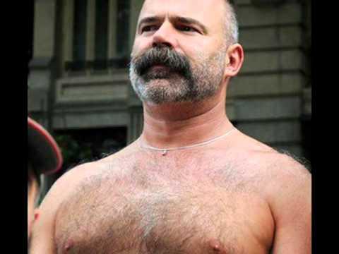 hombres maduros peludos