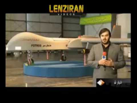 New Stealth UAV Drone Named (Fotros) revealed by Iran.
