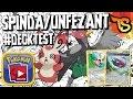 ✪ Pokémon TCG - Spinda/Unfezant/Mew Deck! #DECKTEST