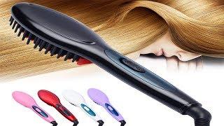 Buy best hair straightening brush   top hair straightening brush review   best hair straight