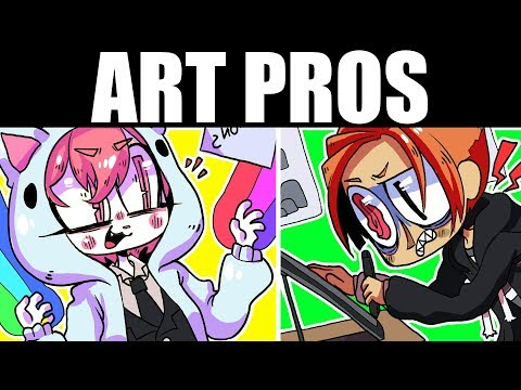 THE 5 TYPES OF PROFESSIONAL ARTISTS