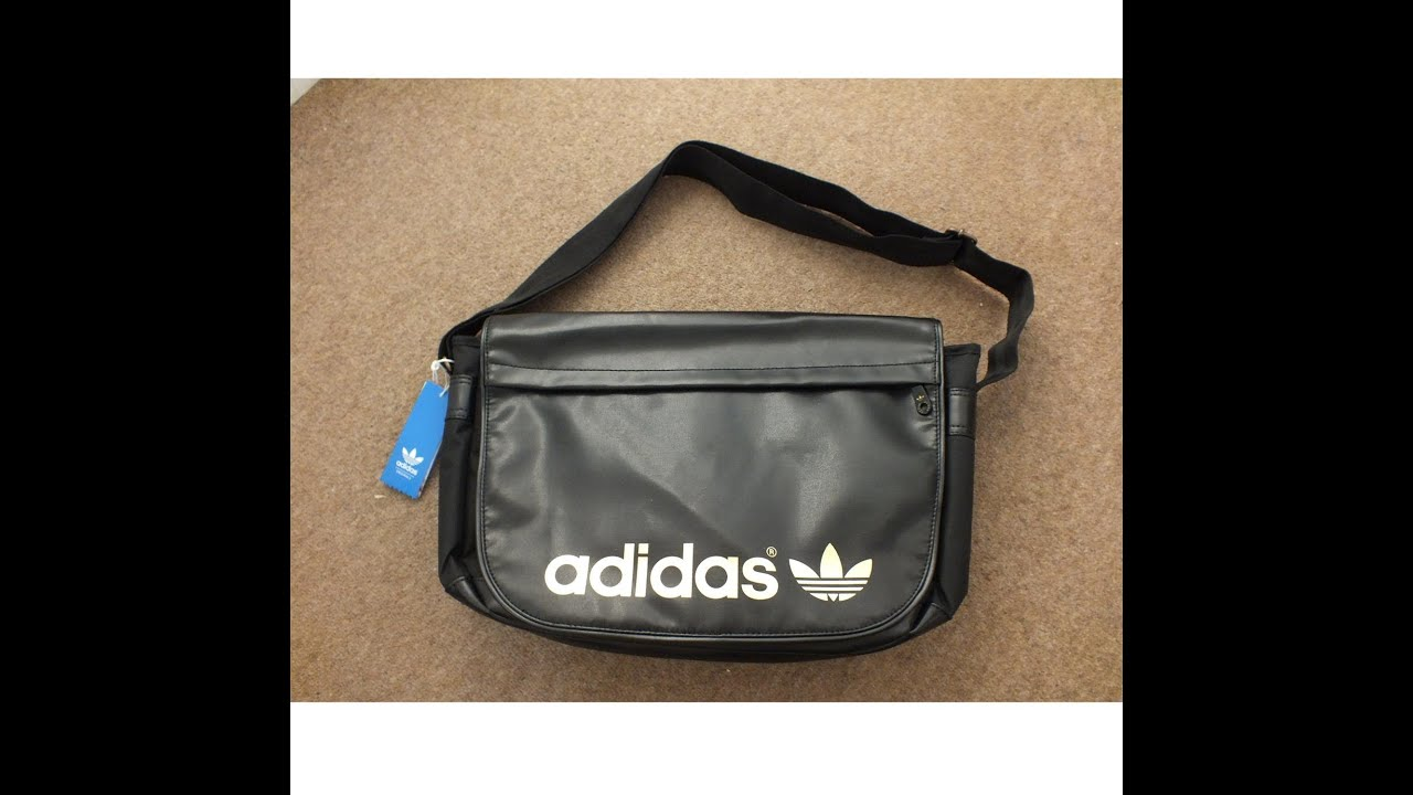 Adidas Originals AC Messenger Bag pefect for small laptops or as Airline  Handbagage cff530515a