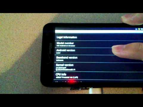 CyanogenMod7 on LG Revolution 4G (first preview)