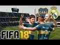 Boca vs Real Madrid - FIFA 18 Demo Gameplay La Bombonera