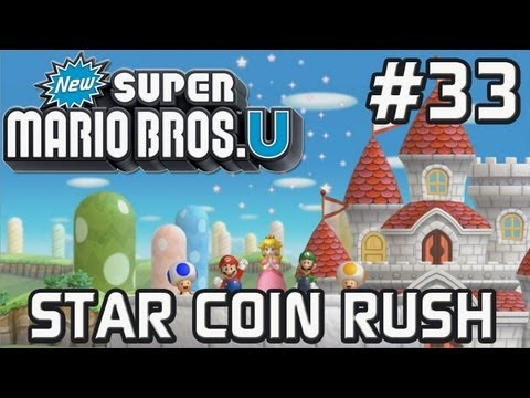 Let's Play New Super Mario Bros. U [#33] - Star Coin Rush - Welt 1 und 2 [swiss-german] [HD]
