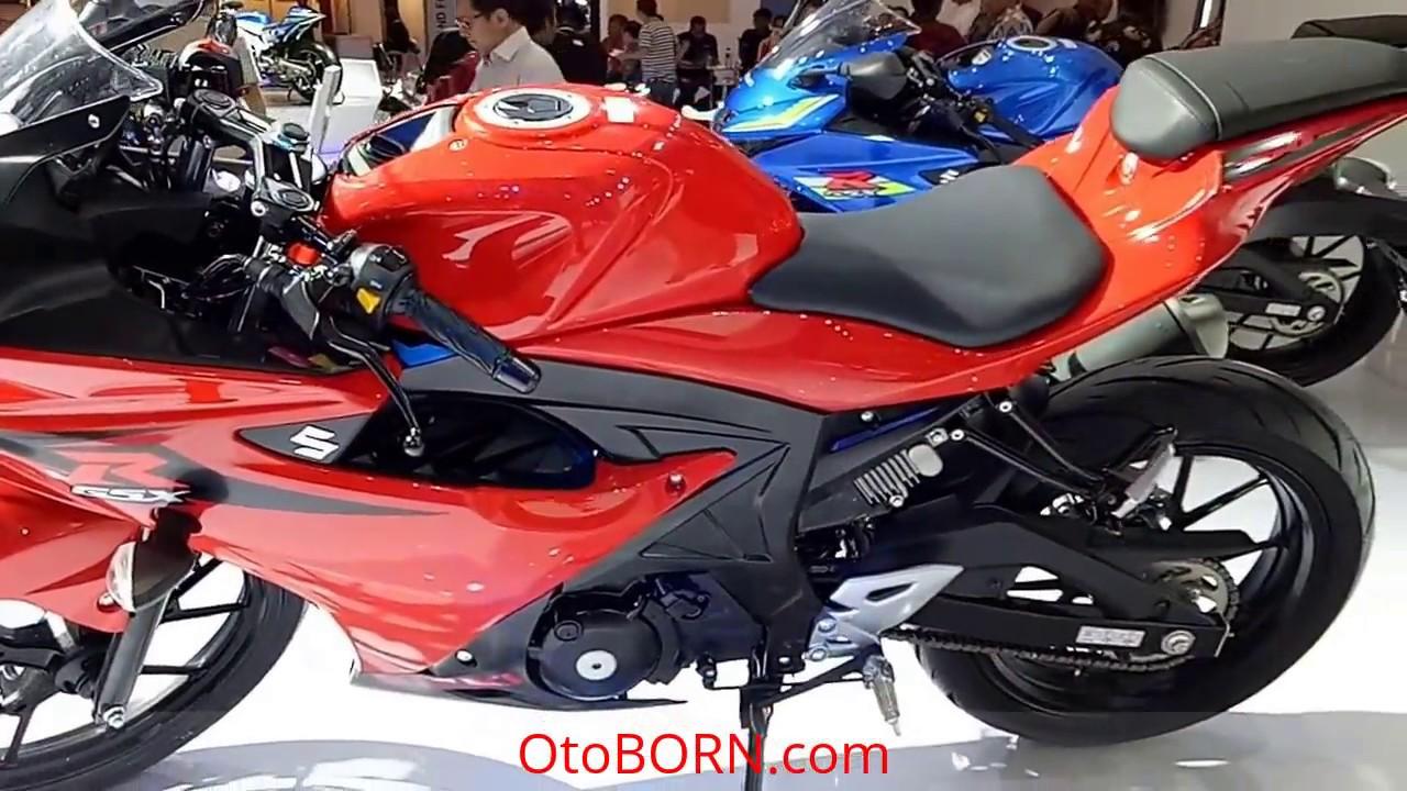 Suzuki Gsx R150 2016 Red Youtube