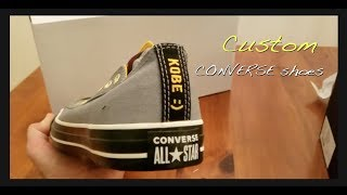 Fully Custom Converse Shoes