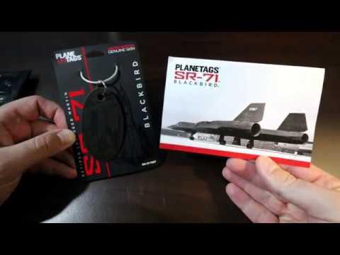 MotoArt PlaneTags Lockheed SR-71 Blackbird Unboxing