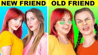 الأصدقاء الجداد مقابل الأصدقاء القدام! 14 موقف مضحك