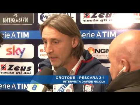 Crotone - Pescara 2-1: Davide Nicola