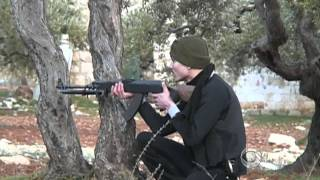 On the frontlines with Syrian rebels