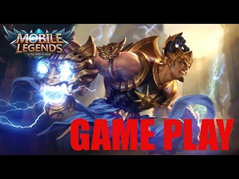 [MOBILE LEGEND 5V5 BANG-BANG] Gatot Kaca Game Play - Hero Dari Indonesia  Mantap