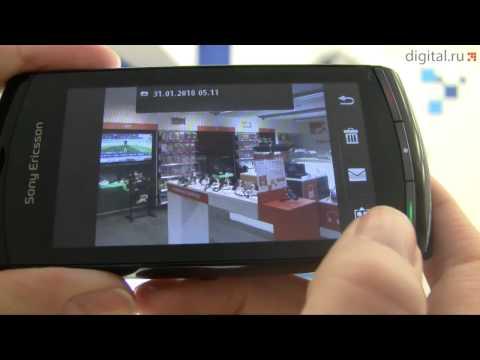 Видеообзор смартфона Sony Ericsson Vivaz U5i