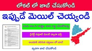 AP and TS local jobs update in telugu 2019, School of Planning and Architecture jobs 2019