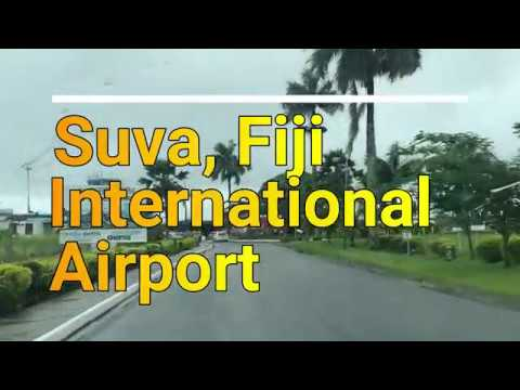 Beautiful Airport Drive Suva Fiji