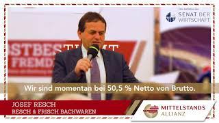 3. MITTELSTANDS-ALLIANZ-Unternehmer-Statement: Steuerquote