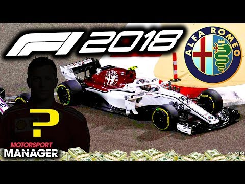 SEASON FINALE! NEW DRIVER REVEAL! - F1 2018 Alfa Romeo Manager Career Part 31