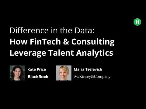 Difference in the Data: How FinTech & Consulting Leverage Talent Analytics