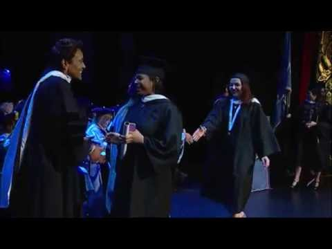 Conferral of Academic Degrees - School of Arts and Sciences