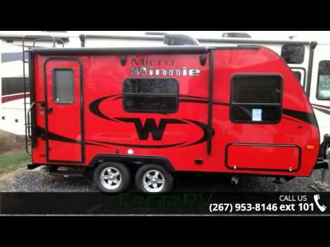 new 2016 winnebago micro minnie 1706fb for sale fretz rv classified ads camper trader youtube. Black Bedroom Furniture Sets. Home Design Ideas
