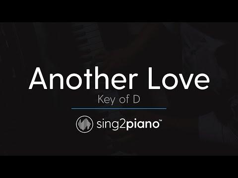 Another Love (Piano Karaoke Instrumental) Tom Odell